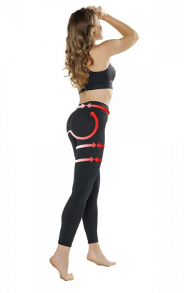 Legginsy PUSH-UP LEGGINGS Anti Cellulite 40 GWINNER