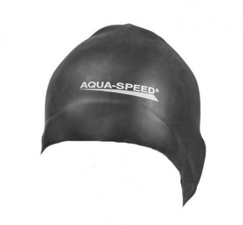f0c49fd786960c sklep pływacki aqua-swim.pl CZEPEK PŁYWACKI SILIKONOWY RACER WYPUSTKI Z  TYŁU logo ...