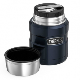 Termos obiadowy z łyżką Thermos King 470ml THR184807 RED