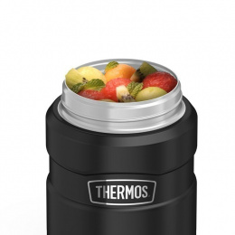 TERMOS OBIADOWY Z ŁYŻKA Thermos King 710ml DO 14h METALIC BLUE