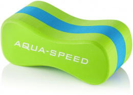 DESKA PŁYWACKA DO PŁYWANIA NA BASEN ÓSEMKA JUNIOR 3 LAYERS AQUA-SPEED