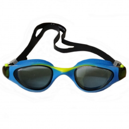 OKULARY OKULARKI PŁYWACKIE BUZZARD AQUAWAVE BLACK/BLUE/YELLOW/SMOKY